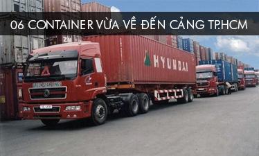 Cập cảng 06 container Piano Cơ Upright và Grand