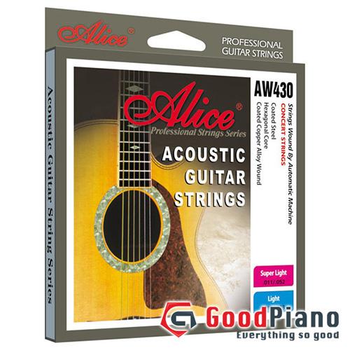 Dây đàn Guitar Acoustic Alice AW430