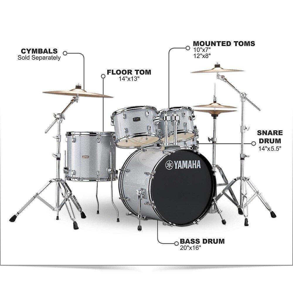 Bộ dàn trống jazz drum Yamaha