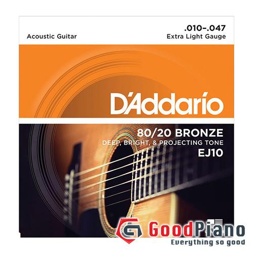 Dây Guitar Acoustic  EJ10