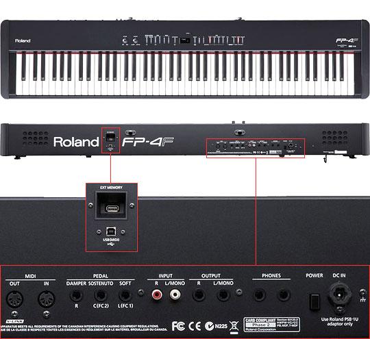Đàn Piano Điện Roland FP-4F