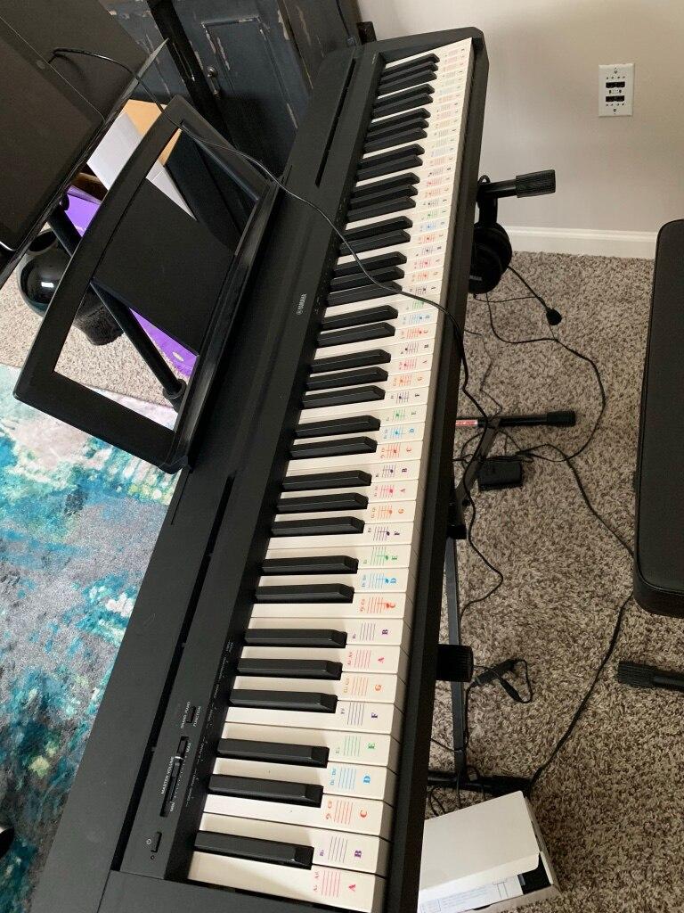 Đàn Piano Điện Yamaha P-35 (Chân Gỗ)
