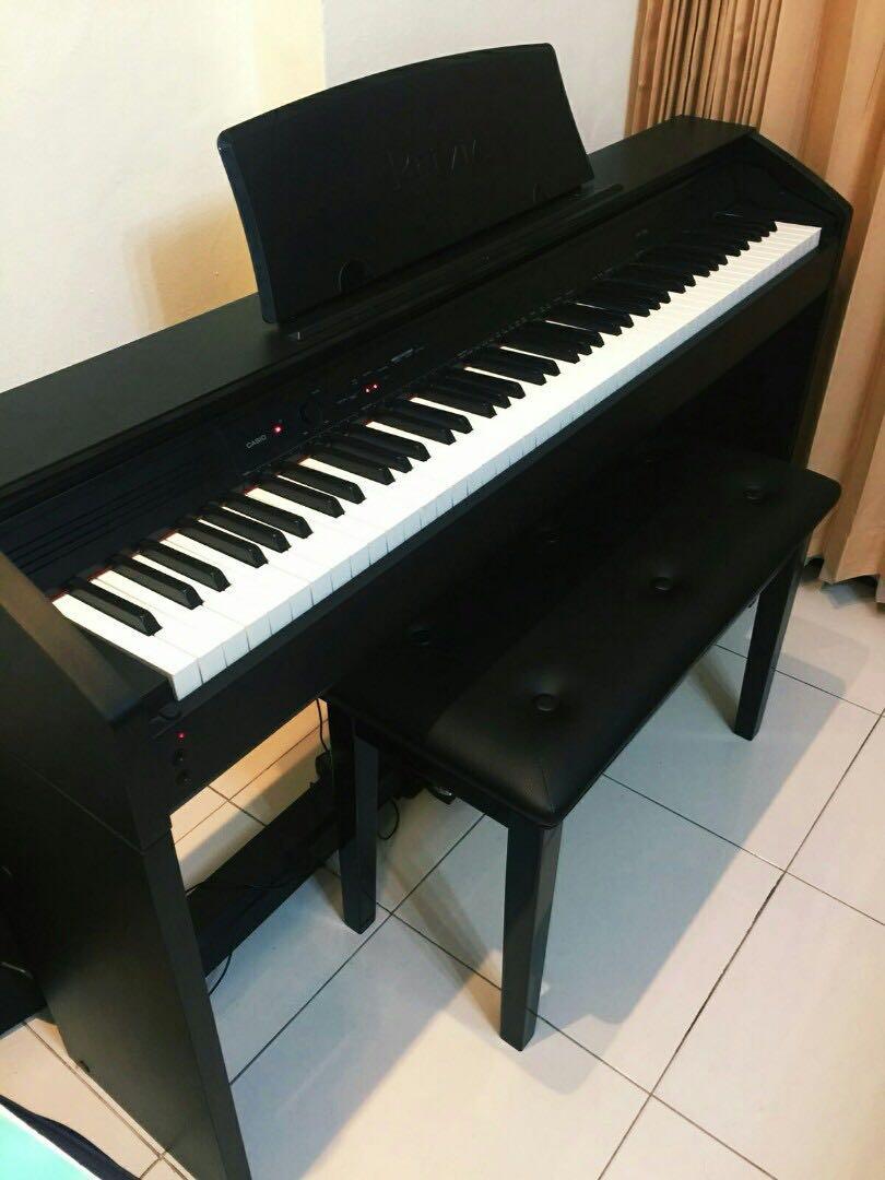 Đàn Piano Điện Casio PX-750 - Màu BK/ BN/ WE