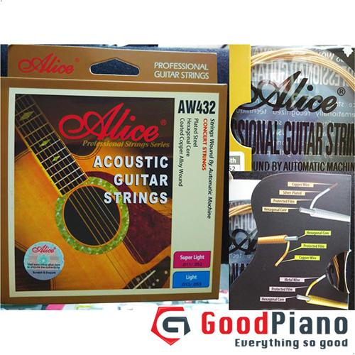 Dây đàn Guitar Acoustic Alice AW432-L