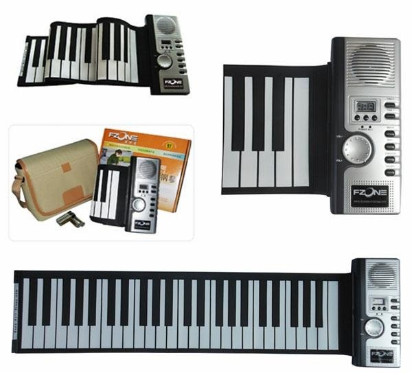 Piano phím mềm - Piano cuộn - Roll Up Piano - Soft Keyboard