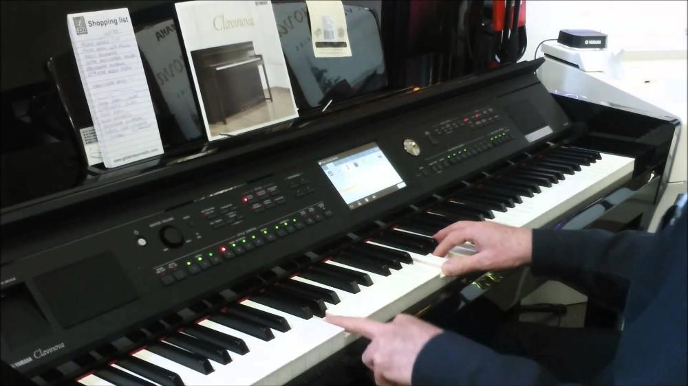 Đàn Piano Điện Yamaha Clavinova CVP-705PE