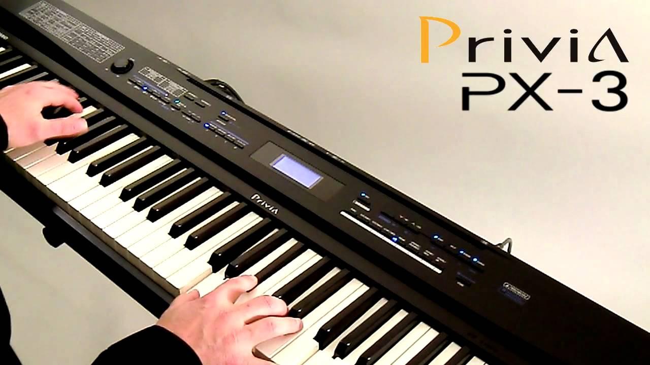 Đàn Piano Điện Casio PX-3 BK