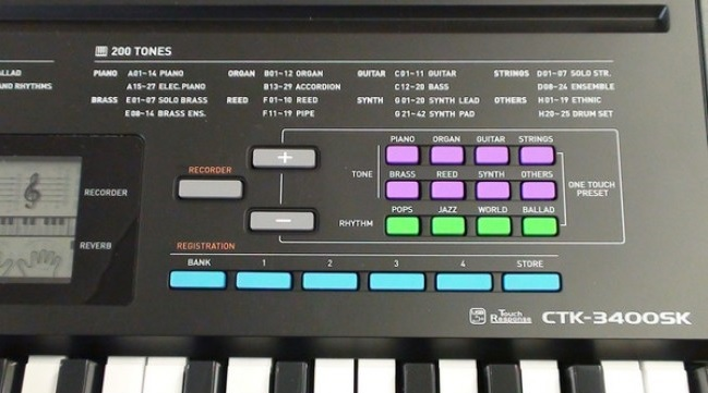 Đàn Organ Casio CTK-3400SK