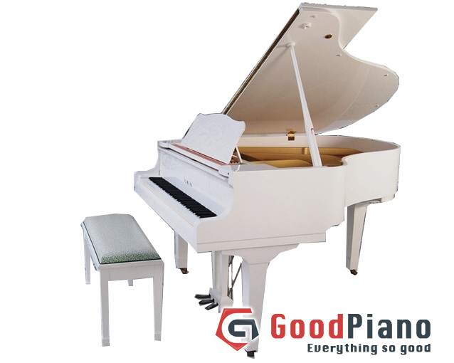 Đàn Piano Yamaha C3 Trắng