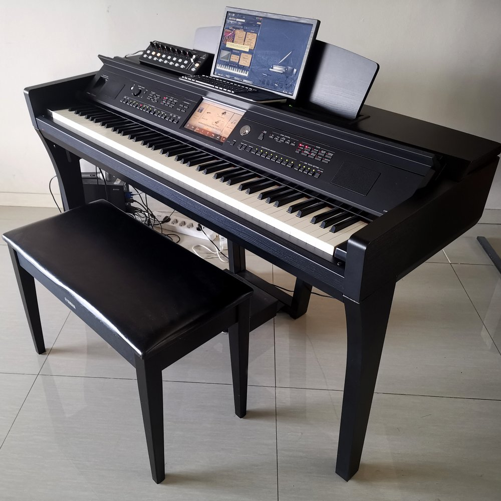 Đàn Piano Điện Yamaha Clavinova CVP-709B