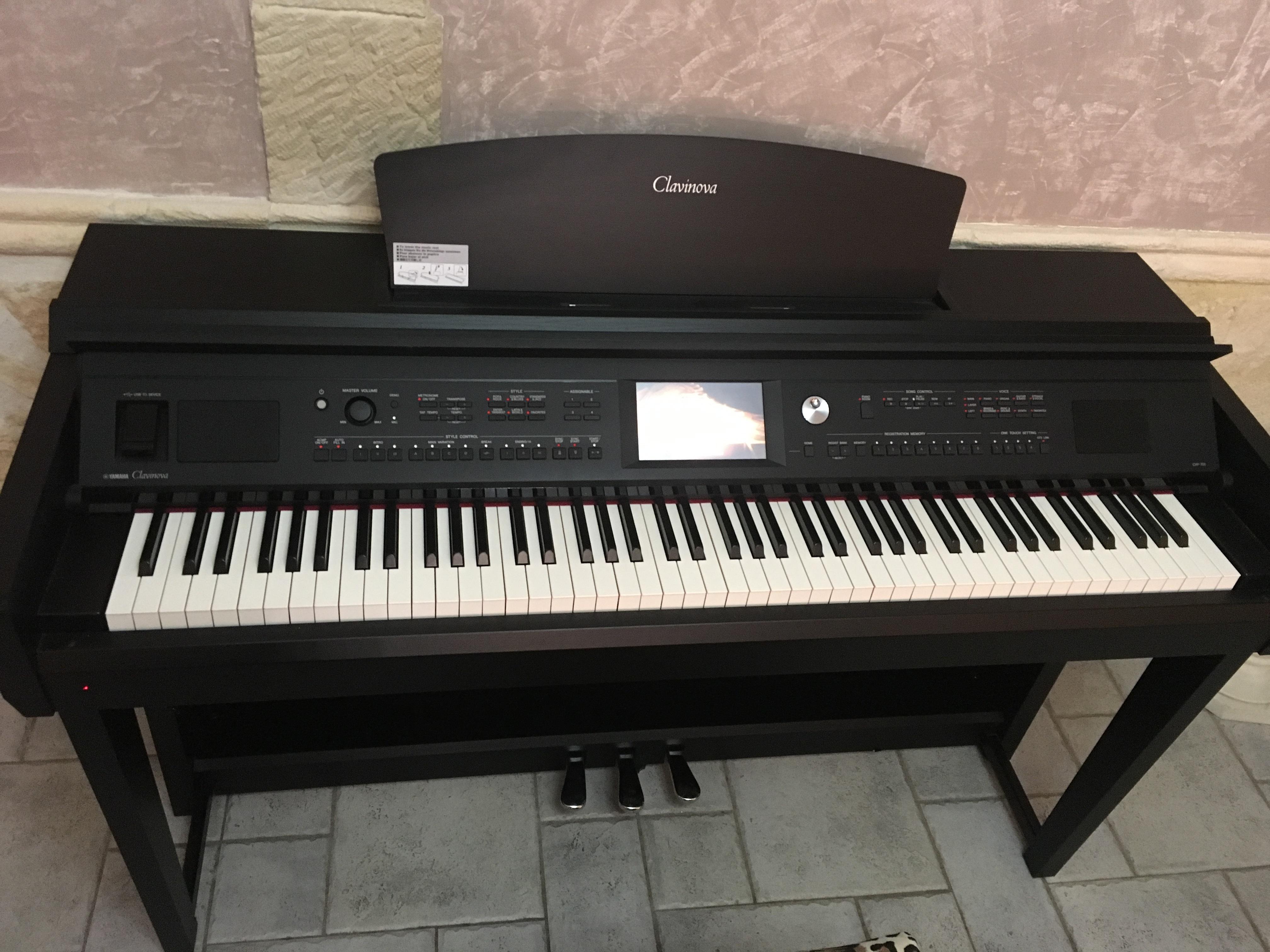 Đàn Piano Điện Yamaha Clavinova CVP-705E