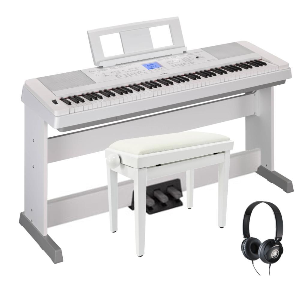Đàn Piano Điện Yamaha DGX-660WH (LP-7AWH)